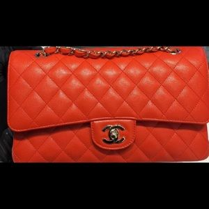Chanel Classic Flap Red 19c